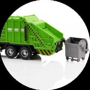 Limpiadores de camiones basura